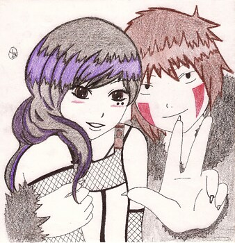 Sumire and Kiba