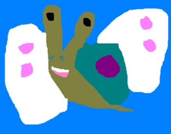 Another Random Buttersnail Ms Paint^^