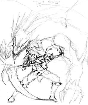 Thorn Sketch 2013