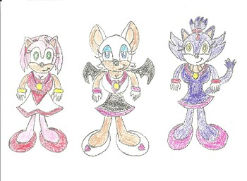 Sonic Girls' Gold Medals