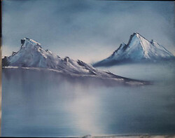 Mountain Oil Painting #2