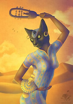 Goddess Of Pleasure: Bastet
