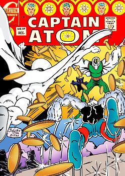 Captain Atom #89 Recreation: Israel S. Algarin after Steve Ditko