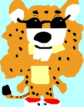 Yet Another Chibi Chester Cheetah Ms Paint^^