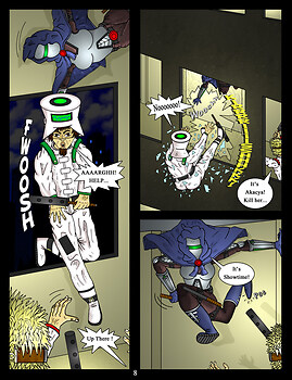 Akacya : The Bounty Hunter page 8