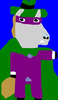 The Hooded Hoss MS Paint^^