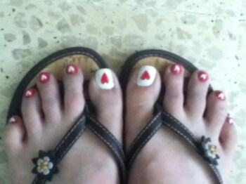 Heart Pedicure