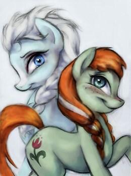 Frozen Ponies