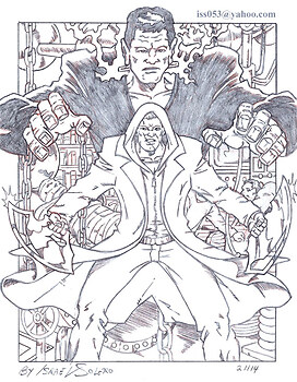 """I Frankenstein"" The Legacy Continues (Penciled)"