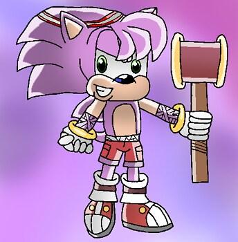 Gender bender: Amy Rose (Sonic boom)