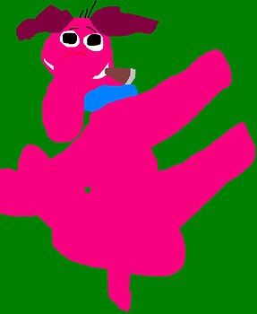 Cyril Sneer In A Funny Pose Ms Paint^^