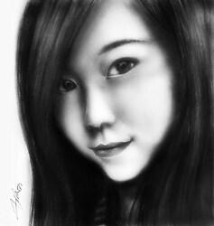 Pencil Portrait - G.E.M.