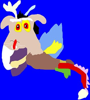Another Big Durpy Chibi Discord MS Paint^^