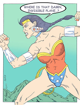A Not Again, Wonder Woman Scenario