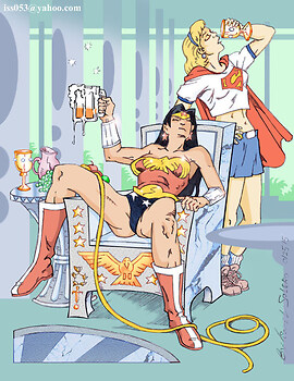 ONE For The Road: Wonder Woman & Supergirl (Clr)
