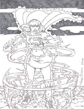 Supergirl Facing the Storm: Prelim