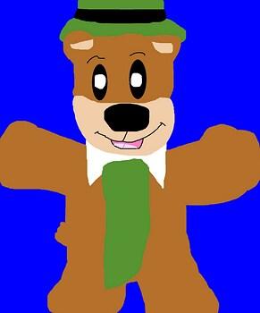 Yogi Bear Plush Request For alerkina4 MS Paint^^