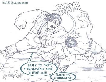 Wreck it Ralph vs. Hulk (prelim)