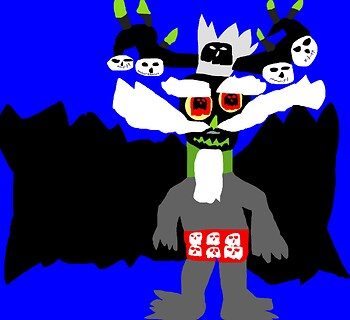 Xibalba In Skull Boxers MS Paint