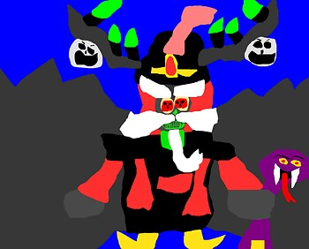 Xibalbafar MS Paint Xibalba  dressed as jafar