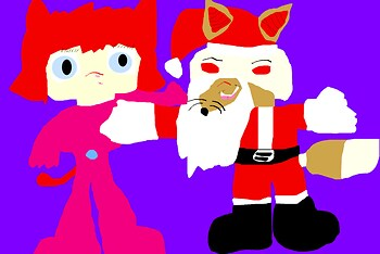 Santa Big Cheese New For 2014 Polly Added MS Paint