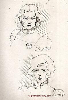 Beifong Sisters_ Sketch