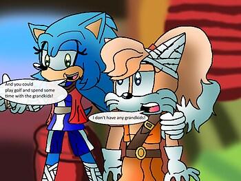 Sonic Boom Genderbent Scene 1