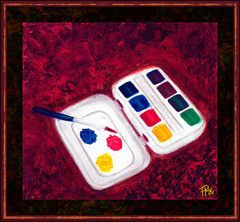 Watercolours Tiny Box