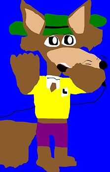 Big Chibi Mildew Wolf New For 2015 MS Paint^^