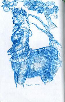 palamino centaur lass