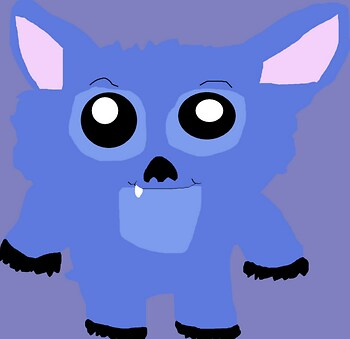 Chubby Chibi Stitch Request MS Paint^^