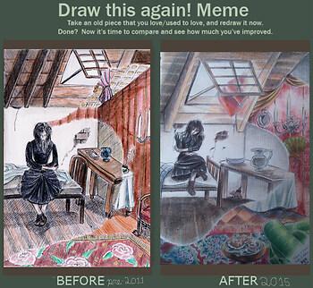 Draw Again Meme for Princess of Dreams