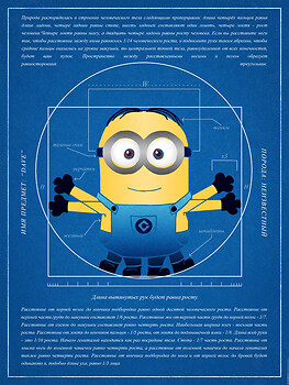 Vitruvian Minion Blueprint
