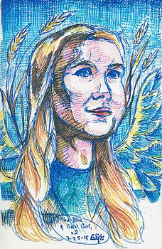 Blue-and-Gold Girl v.2