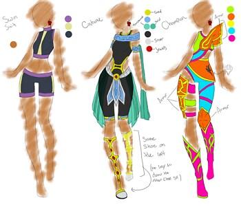 Alaina - Alt Outfits