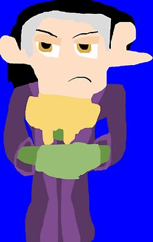 Annoyed Looking Cedric MS Paint