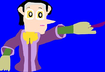 Another Cute Chibi Eyed Cedric MS Paint^^