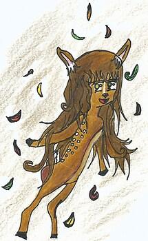 Deer Girl Tori