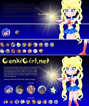 Sailor Moon css animation