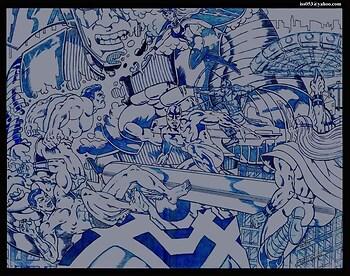 Galactus, Silver Surfer / Storm vs. Hulk, Submariner, Thor (prelim)
