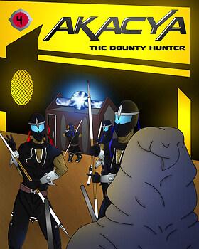 akacya the bounty hunter. Cover chapter 4