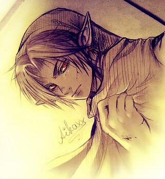 Dark Link Sketch