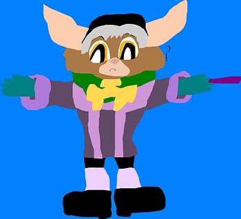 Cedric The Mogwai MS Paint^^
