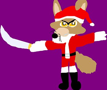 Don Karnage MS Paint New For 2015 Santa Claus Outfit Version