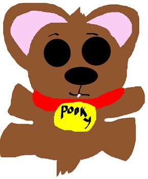 Pooky MS Paint B Day Gift For fredvegerano^^  Pooky MS Paint B Day Gift For