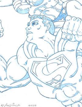 Alpha: Suerman and Wonder Woman