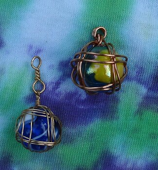 wire wrapped marbles for forum game