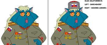 Russian Blue Olga concept art