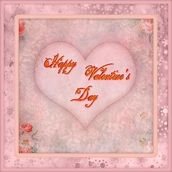 Valentine Card - Heart