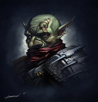 Goblin Assassin Portrait